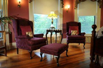 Clem Studebaker Sitting Area