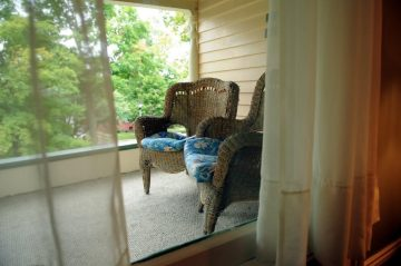Knute Rockne Porch
