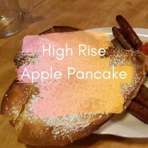 High Rise Apple Pancake