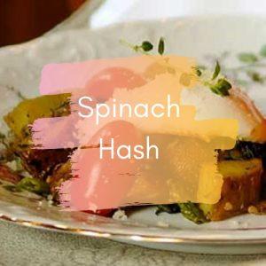 Spinach Hash - Recipe Index Image