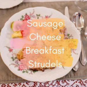 Sausage Cheese Breakfast Strudels - Recipe Index Image
