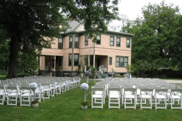 Weddings - Our Lawn Setup for Wedding Ceremony