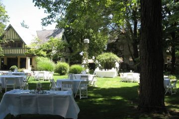 Weddings - Our Lawn Setup for a Reception