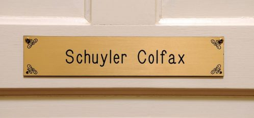 Welcome to The Schuyler Colfax Room